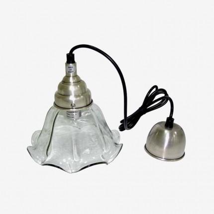 LAMPARA TECHO ONDAS PLAFON CRIST