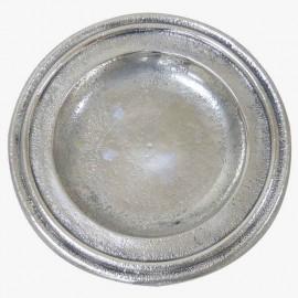 PLATO PAN PLATEADO IRREGULAR