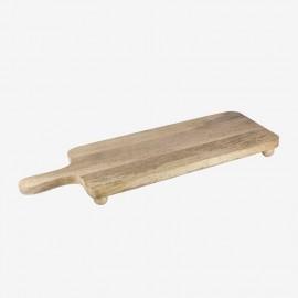 TABLA PQÑA 60 cm PATA BOLA CON M