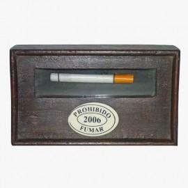 PROHIBIDO FUMAR CON CRISTAL