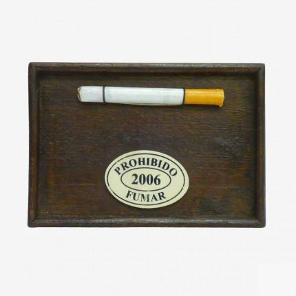PROHIBIDO FUMAR SIN CRISTAL