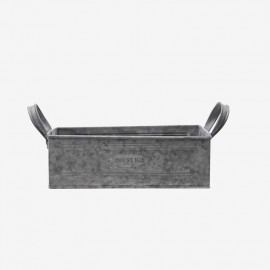 JARDINERA RECTANGULAR PQÑA METAL