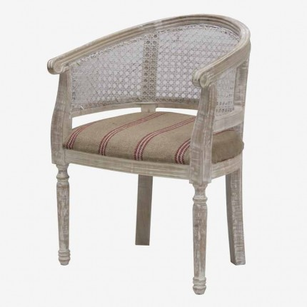 SILLON DESPACHO REJILLA BLANCO A