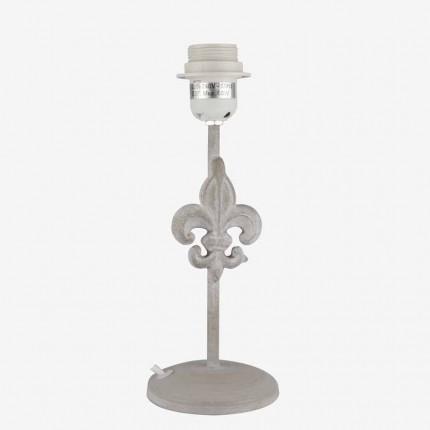 LAMPARA TUBO FINO FLOR DE LYS  G