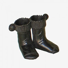 BRASS PAR CALCETINES CAZA NEGRO