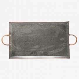 BANDEJA METAL GR RECTANGULAR NEG